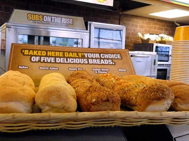 Best Subway Bread | Subway offers varied options for bread