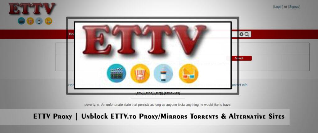 ETTV Proxy | Unblock ETTV.to Proxy/Mirrors Torrents & Alternative Sites
