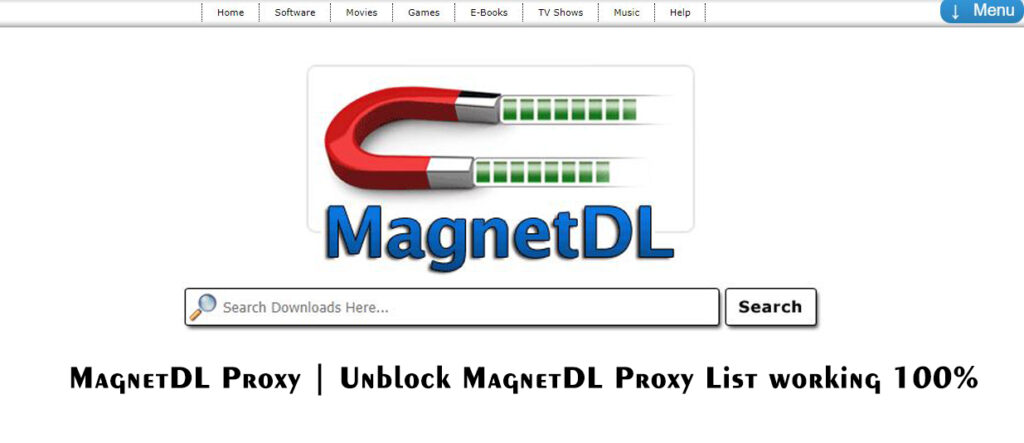 MagnetDL Proxy | Unblock MagnetDL Proxy List working 100%