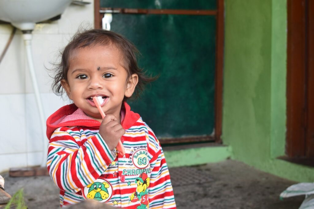 How to Teach Your Children to Brush & Floss?