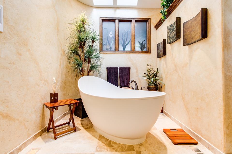 Bathroom Interior Designing With Tiles